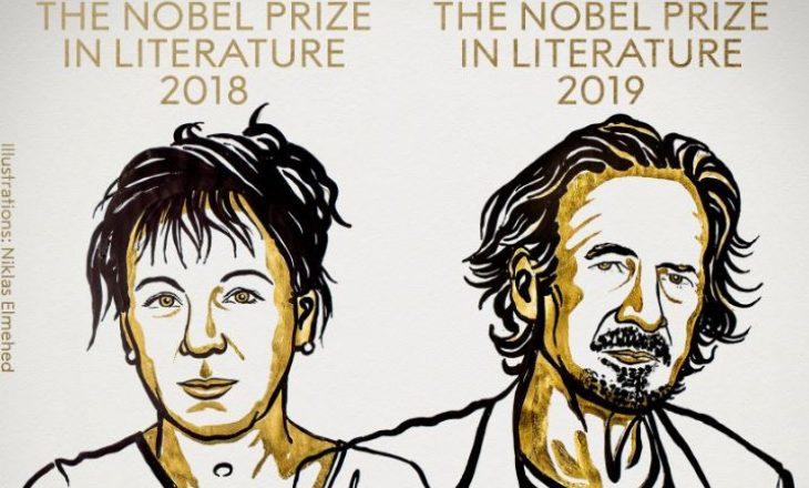 Çmimet Nobel për Letërsi i fitojnë Olga Tokarczuk dhe Peter Handke