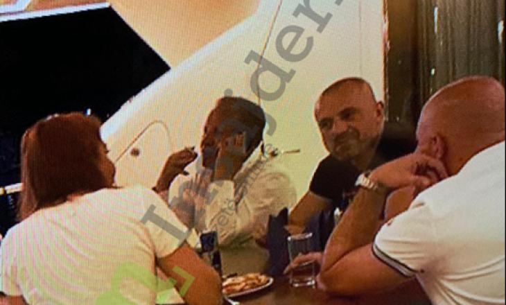 Foto Ekskluzive | Behgjet Pacolli në takim me kriminelin e veriut