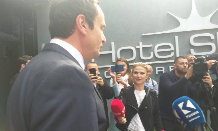 Kurti tregon a do të jetë Lista Serbe pjesë e qeverisë së tij