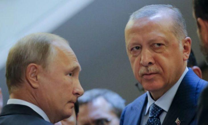 Erdogan takim kokë më kokë me Putinin