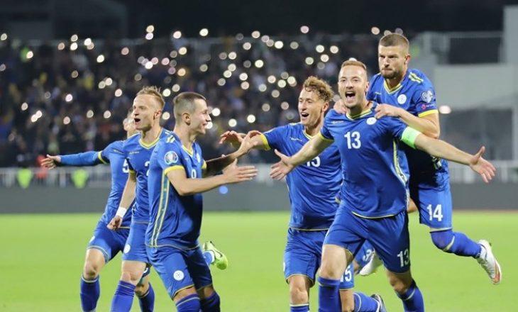 """Festa e """"çmendur"""" e futbollistëve kosovarë, pas fitores me hitin e Dhurata Dorës"""