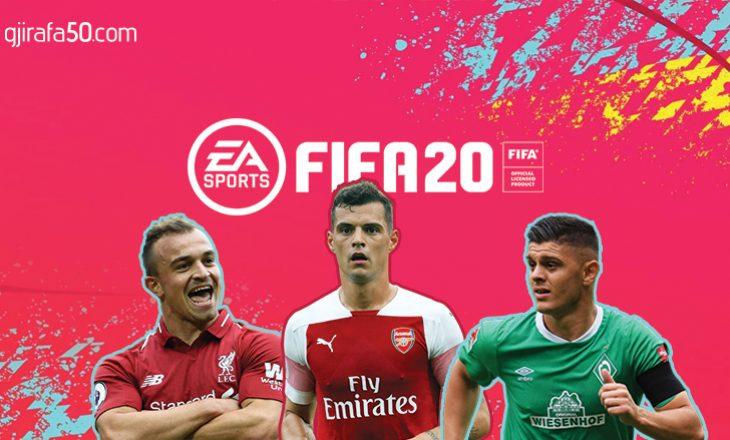 Shaqiri, Xhaka, apo Rashica, cili është futbollisti Kosovar më i mirë sipas FIFA 2020?