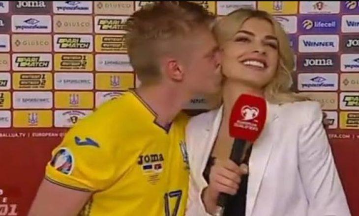 """Ukraina u kualifikua për në """"Euro 2020"""", kjo është festa e 'çmendur' e yllit të Cityt"""