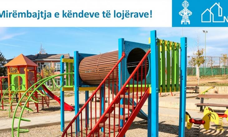 NPB përmes inspektimeve të rregullta dhe azhurnime të pajisjeve dhe terreneve të lojërave garanton lojë të sigurt për fëmijët.
