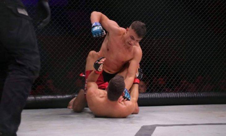 Shqiptari debuton në MMA me fitore ndaj serbit