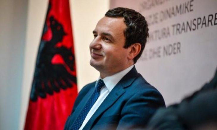 Albin Kurti i ka gati emrat e ministrave