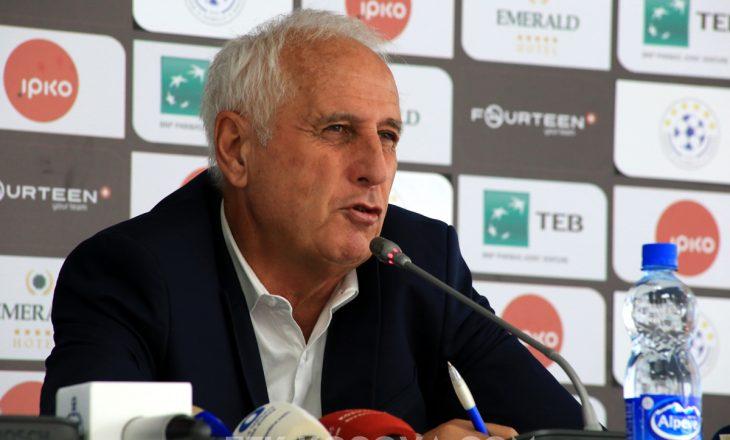 Challandes publikon listën e futbollistëve për ndeshjet me Çekinë dhe Anglinë