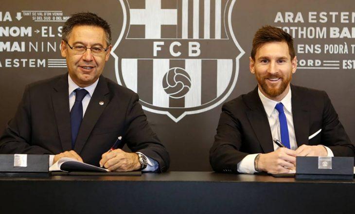 Messi: Tash e 5 muaj nuk flas me presidentin