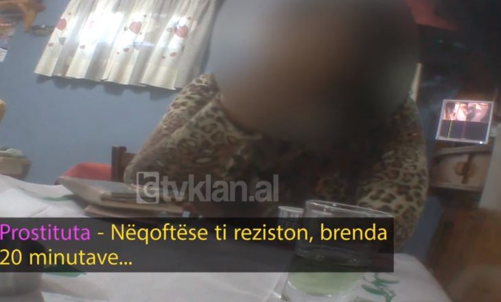 'Nëse ti reziston për 20 minuta' – zbulohet biseda e prostitutës shqiptare me klientët e saj
