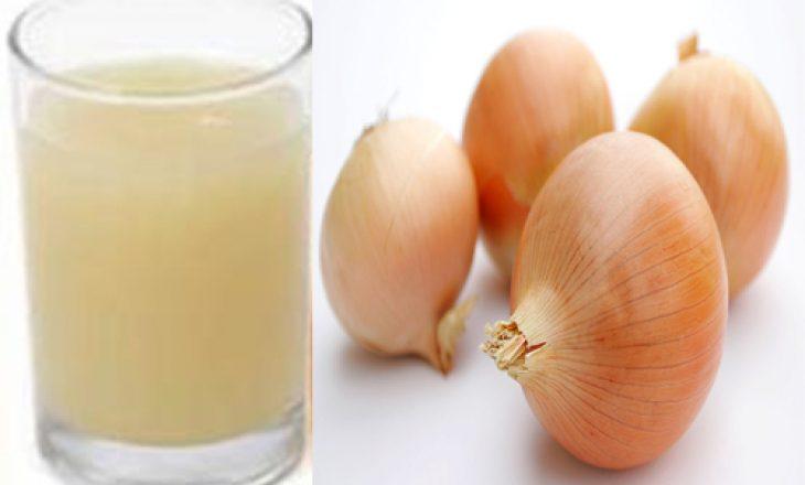 Lëngu i qepës – Zgjidhja ideale për pastrimin e organizmit