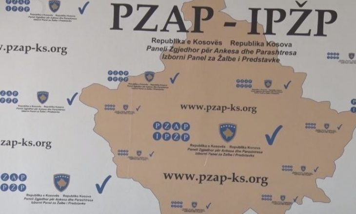 Subjektet politike kanë dorëzuar nëntë ankesa në PZAP