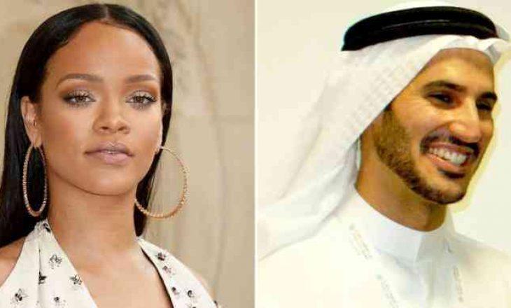Në lidhje me miliarderin mysliman, Rihanna: Jam e lumtur me të