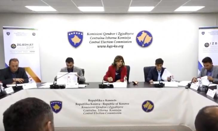 Merret vendim nga KQZ: 303 vendvotime shkojnë në rinumërim