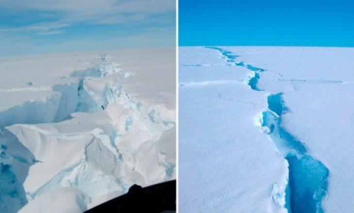 Shkëputet ajsbergu  me peshë prej 315 miliardë tonë