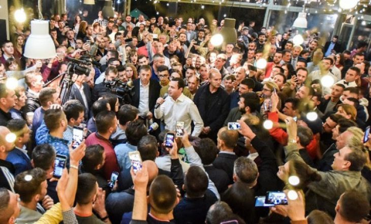 Albin Kurti në Tiranë, për të festuar fitoren në zgjedhjet e Kosovës