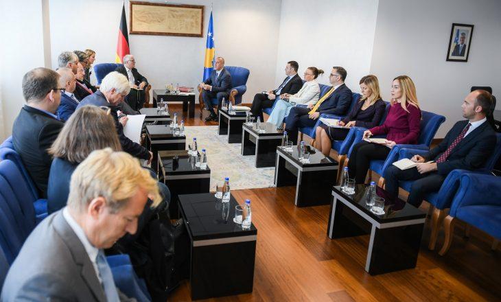 Haradinaj: Qëndrimi i Gjermanisë për mosndryshim të kufijve është tejet i rëndësishëm