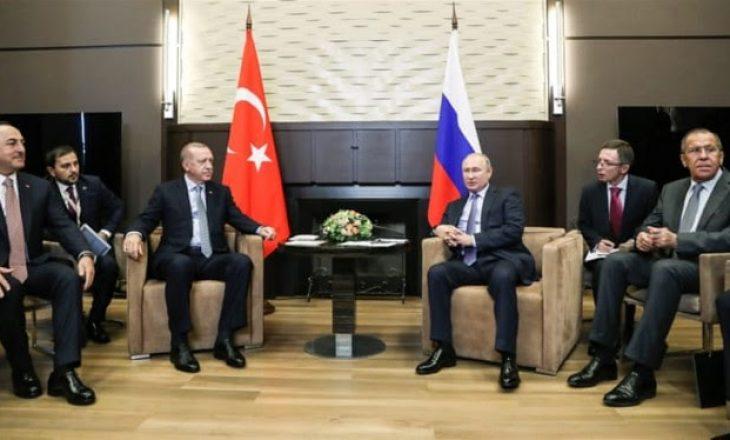 Putin tregon çfarë i tha Erdogan për operacionin turk në Siri