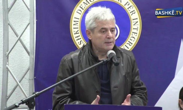 Ali Ahmeti: 12 prilli do të shënojë fitoren më të madhe të BDI