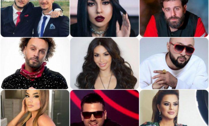 Këta janë emrat e vërtetë të artistëve shqiptarë