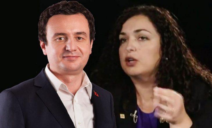 Vjosa Osmani tregon pse nuk është duke marr pjesë në bisedimet me VV-në