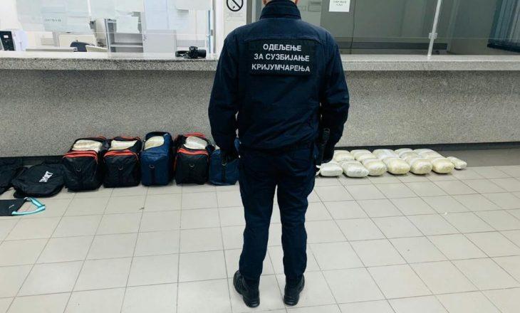 Kapet autobusi kosovar me afër 120 kilogram drogë në Hungari