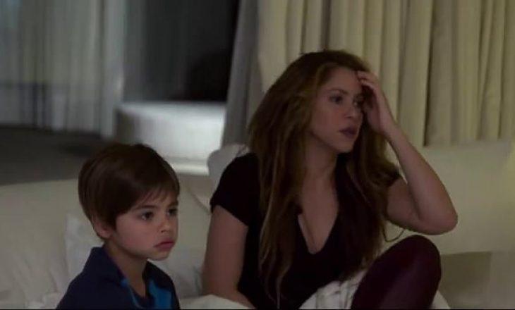Shikoni sa rëndë e përjetoi Shakira humbjen e Barçës kundër Liverpoolit