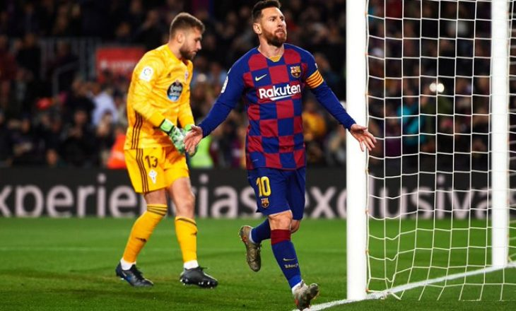 Gol i jashtëzakonshëm nga Messi (VIDEO)