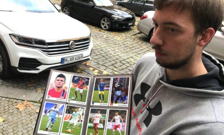 Tifozi çek e mbështet Kosovën, mbledh autografe nga yjet e kombëtares