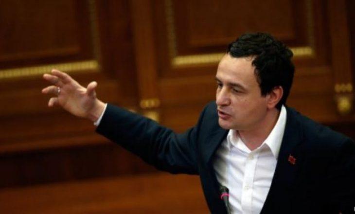 Albin Kurti flet për Listën Serbe: Do të gjejmë mënyrë për ta përmbushur Kushtetutën