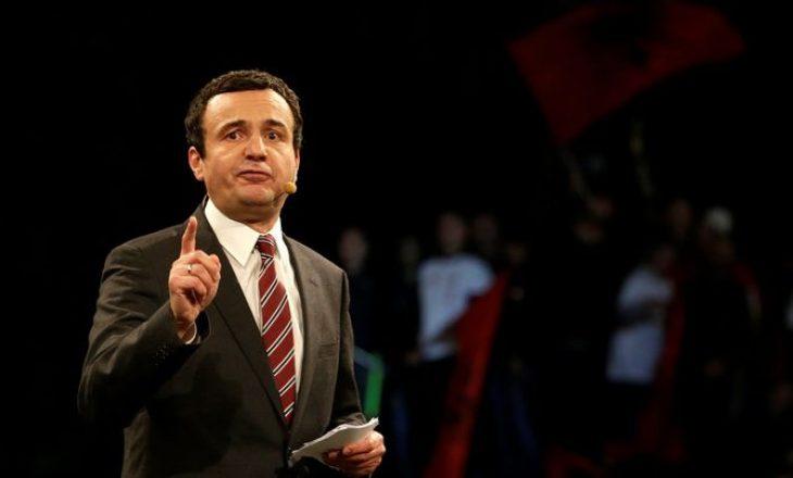 Deklarimi i rrezikshëm i anëtarit të Nismës: Kurti duhet ta lëshojë Kosovën, ose të vritet
