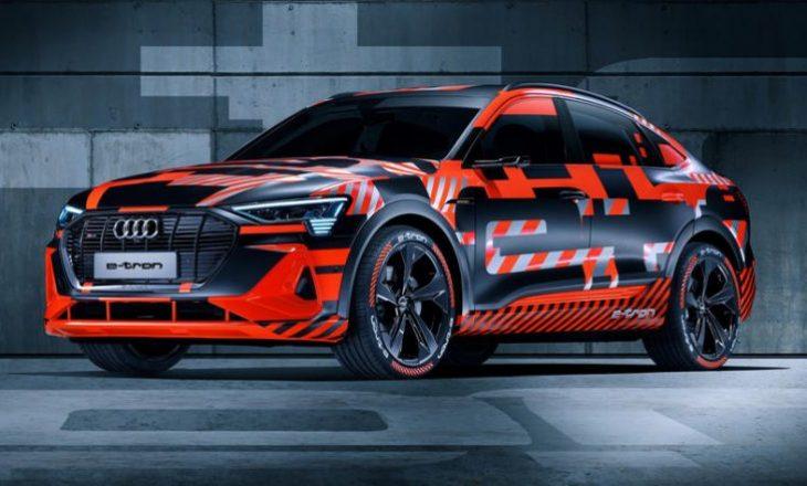 Audi tregon për herë të parë dukjen e e-tron Sportback
