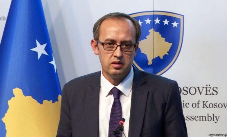 Hoti: Unë flasë në emër të Kosovës