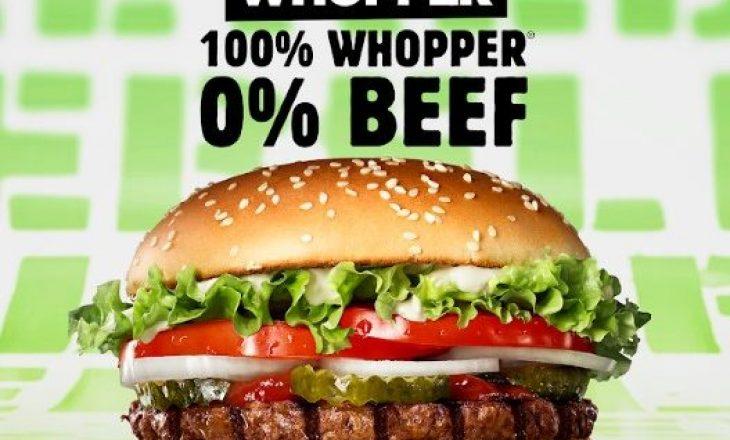 Burger King ® prezanton Rebel Whopper ®: 100% Whopper ®, 0% mish
