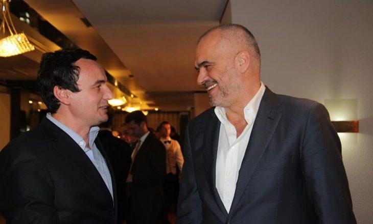 Edi Rama reagon për hapjen e degës së VV-së në Tiranë: E konsideroj si një lajthitje të Albin Kurtit