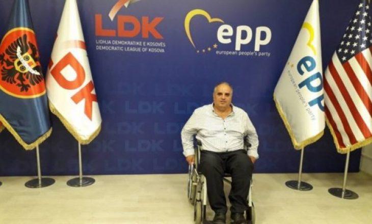 Fetah Rudi thotë se kauza e tij do të jetë zbulimi i vrasjeve të pasluftës dhe fuqizimi i personave me nevoja të veçanta