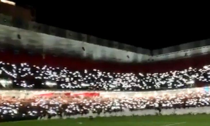 "Pamje fantastike nga stadiumi ""Air Albania"" (VIDEO)"