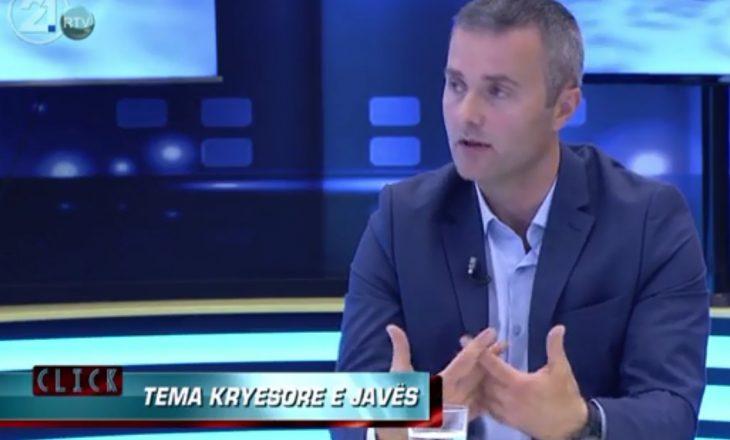 Berisha: Gazetarët anglezë e kanë një shqetësim, por kjo ishte përgjigja ime