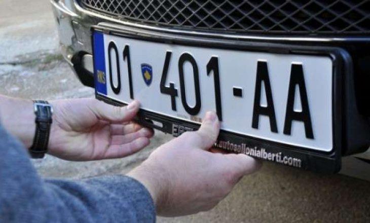 MPB furnizohet me targa të automjeteve, kontrata zbatohet nga java e ardhshme