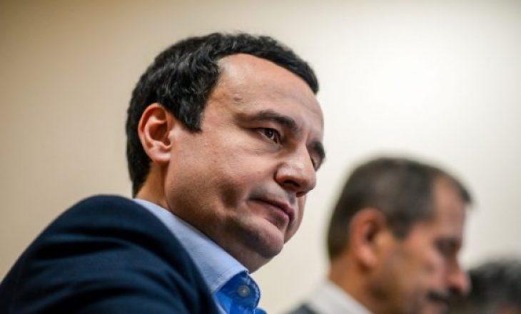 Kurti: Lajm nuk është takimi me Isa Mustafën, por arritja e marrëveshjes