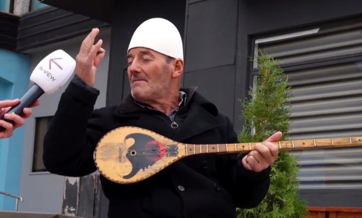Shqiptari ia 'kris' kenges me çifteli në mes të Shkupit