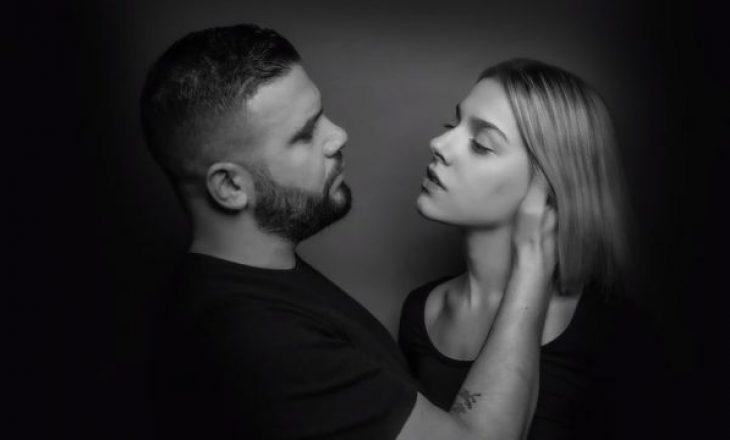 Del kënga 'Doja' nga Arilena dhe Flori Mumajesi