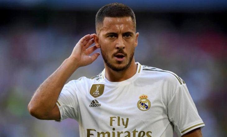 Eden Hazard lëndohet përsëri, belgu do të mungoj disa muaj te madrilenët