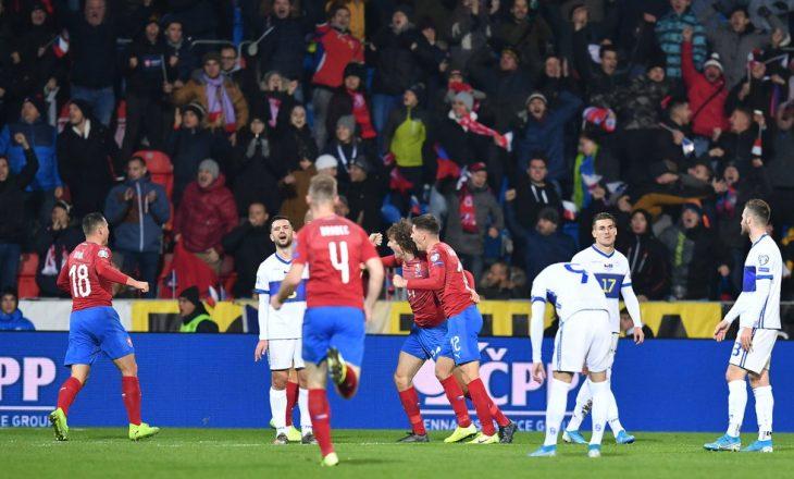 Kosova mposhtet në Çeki dhe humb njërën mundësi për kualifikim në Euro