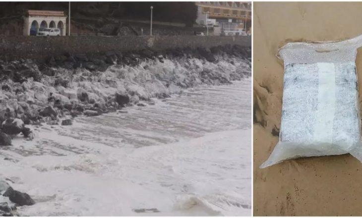 Valët e detit nxjerrin 60 milionë euro kokainë në plazhe