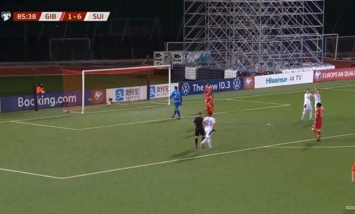 Xhaka shënon gol në fitoren e thellë të Zvicrës [Video]