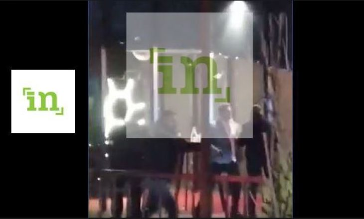"""Party eskalon keq: Disa persona përleshen me armë para klubit """"Duplex"""" në Prishtinë"""