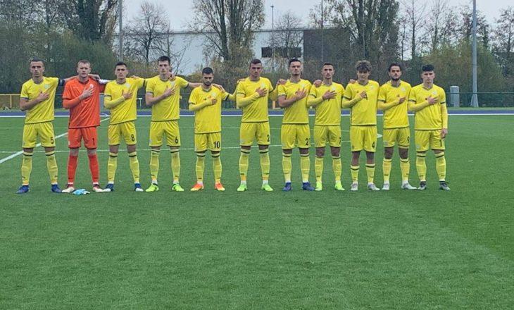 Kosova U19 i mbyll me humbje kualifikimet për Kampionatin Evropian