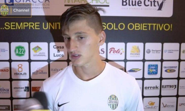 Kumbulla te Juventusi? Përgjigjet vetë mbrojtësi shqiptar