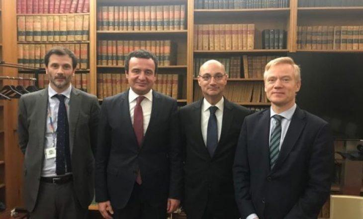Kurti në Francë, flet për zhvillimet politike në Kosovë