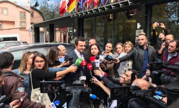 """Bisedimet Kurti-Mustafa – LDK jep """"ultimatumin"""" e fundit për VV-në"""